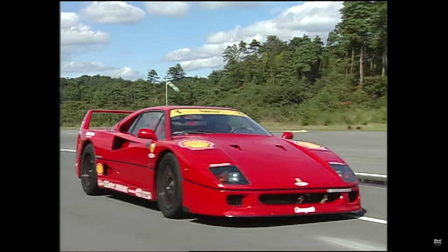 Ferrari F40, F50, Lambo Diablo Battle For Supercar Supremacy