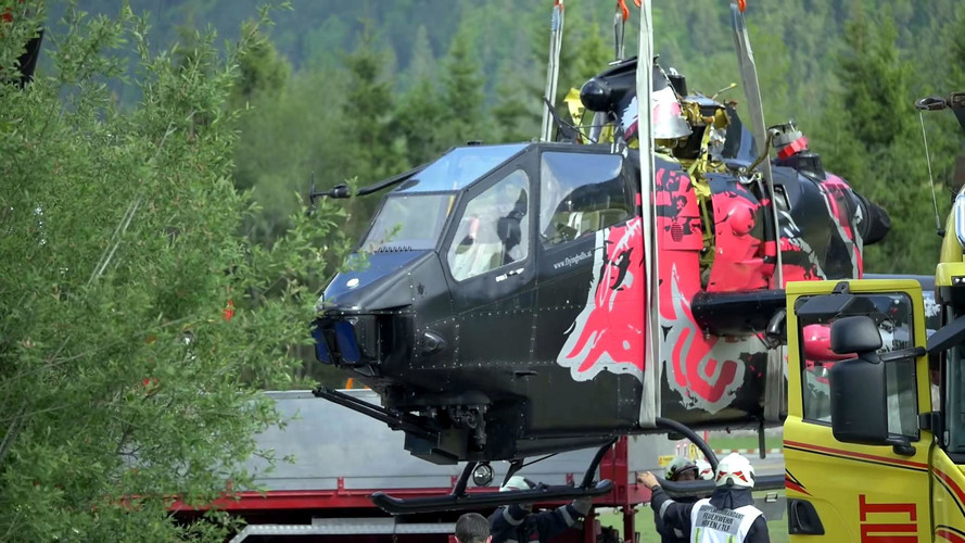 Red Bull Flying Bulls Helicopter Crash
