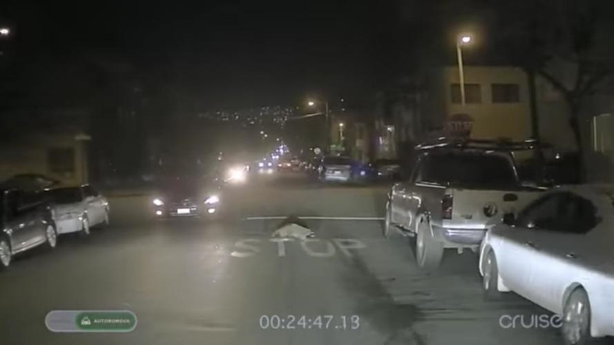 Otonom Chevy Bolt ile San Francisco'da gece turu