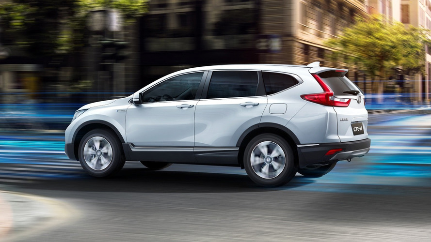 Honda CR-V Hybrid Brings Its Green Credentials To Shanghai