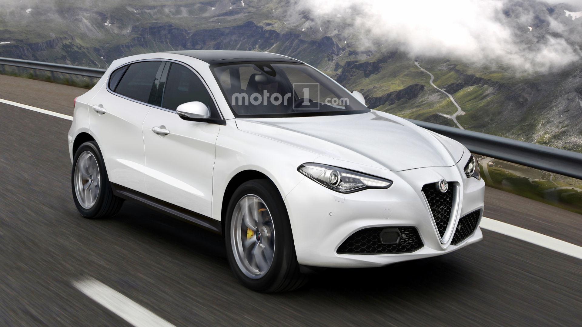 Novo Suv Da Alfa Romeo Sera Baseado Na Plataforma Do Jeep Compass