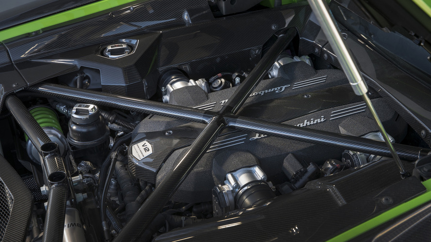 Lamborghini says there's still life in the V12 engine