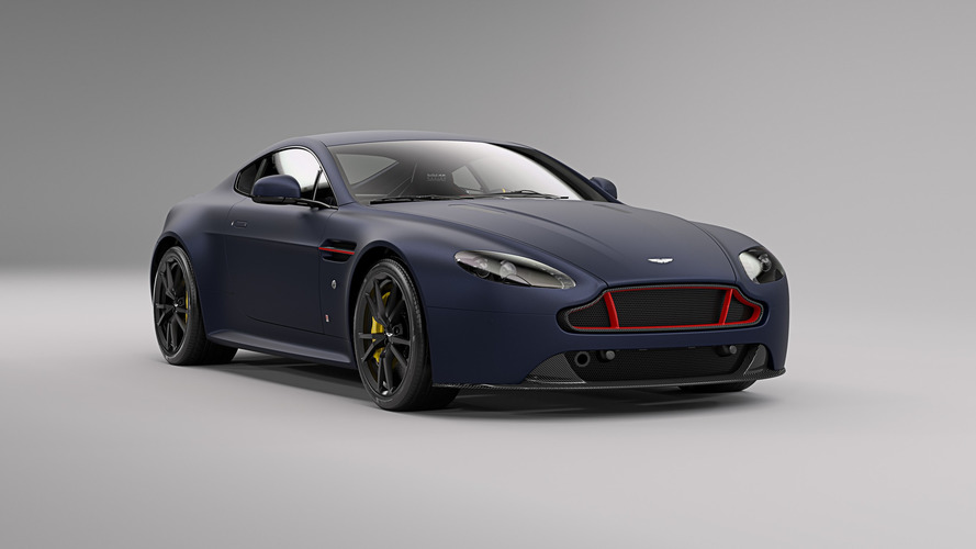 Aston Martin V8 ve V12 Vantage S Red Bull Racing versiyonları