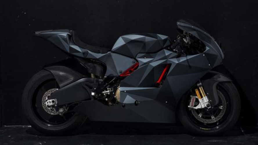 Ducati Desmosedici RR Black Polygon: aggressiva come un caccia stealth