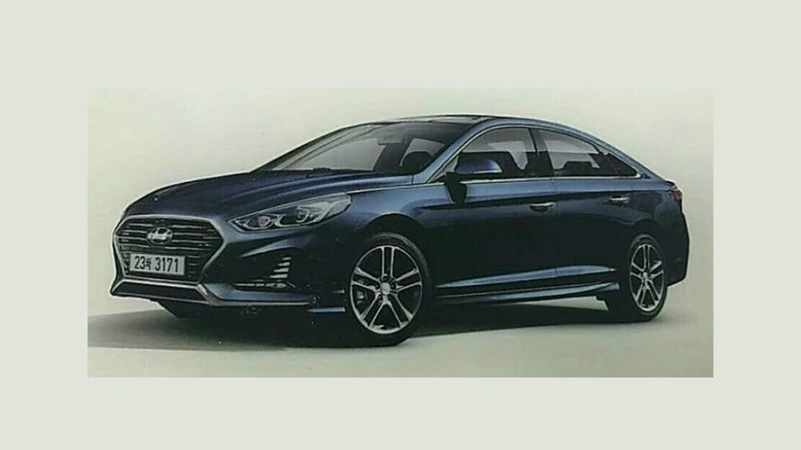 2018 Hyundai Sonata sızdırıldı!