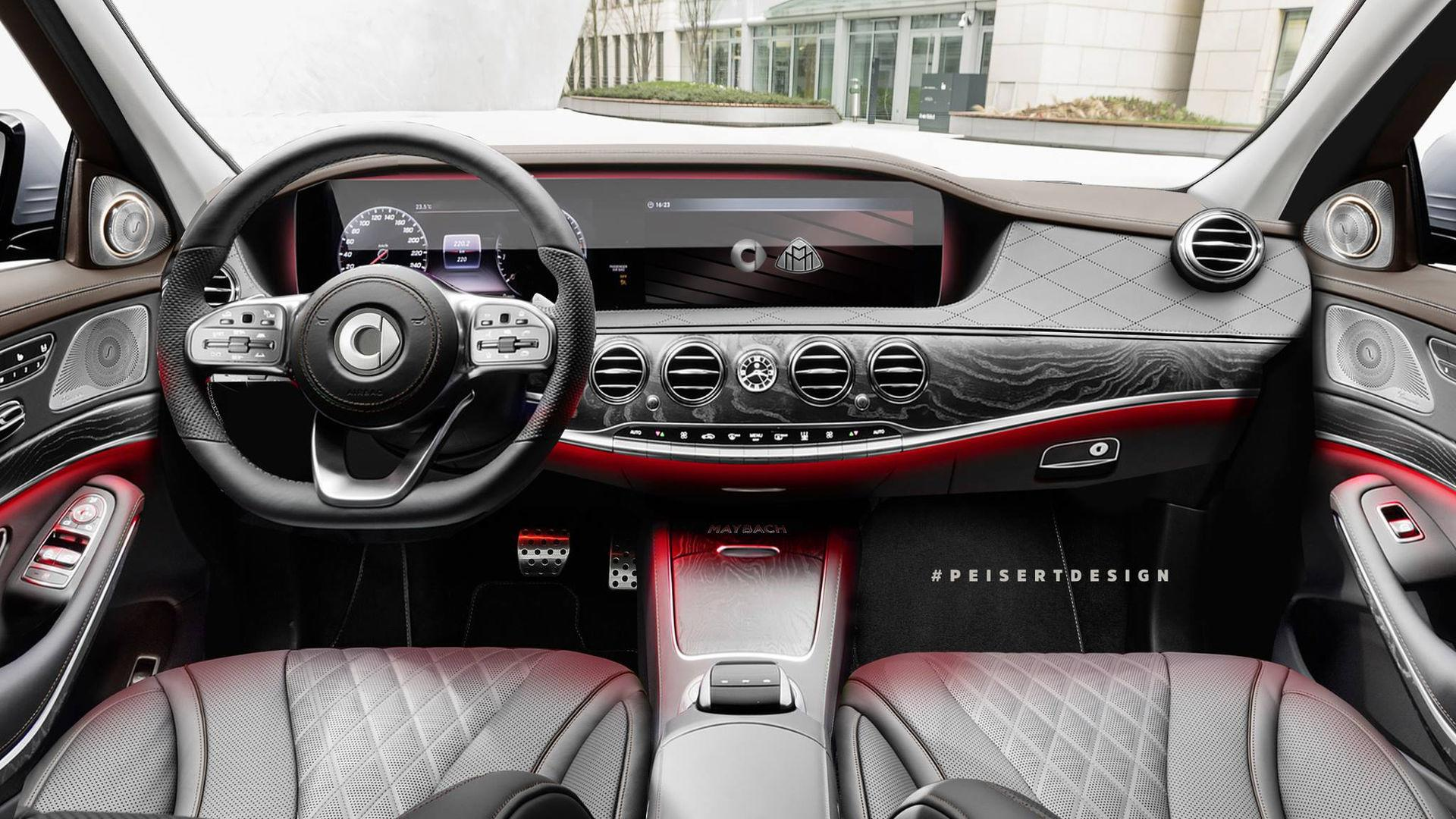 smart maybachpeisert design is electric, luxurious, and tiny