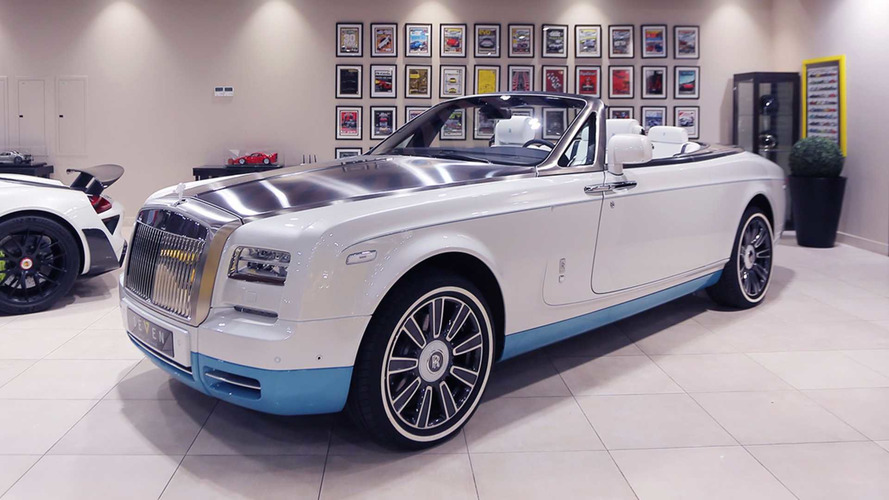 Üretilen son Rolls-Royce Phantom Drophead Coupe