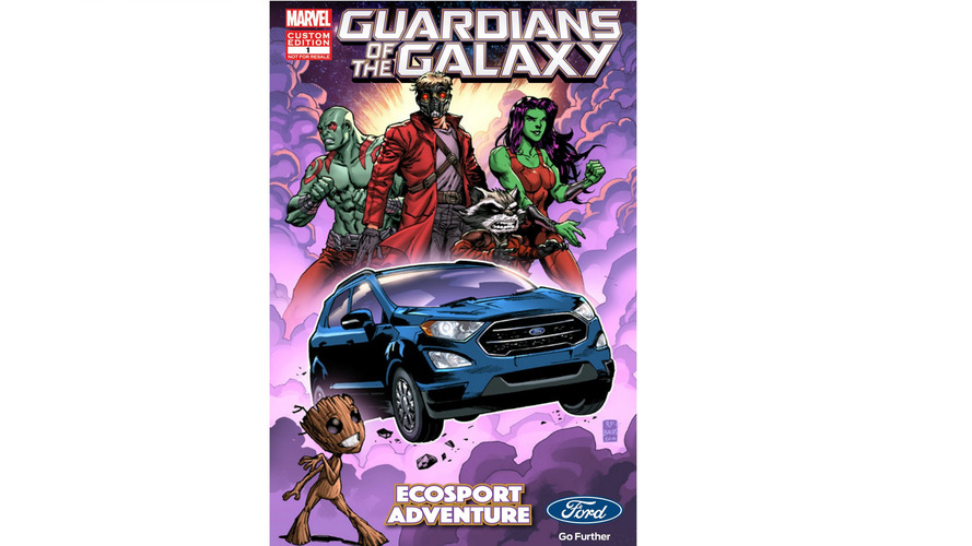 2018 Ford EcoSport in Guardians of the Galaxy Vol. 2