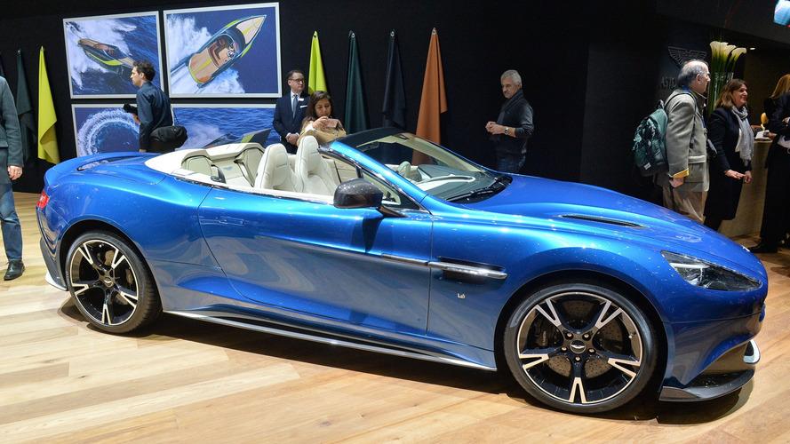Aston Martin Vanquish S Volante, Cenevre'yi güzelliğiyle büyülüyor!