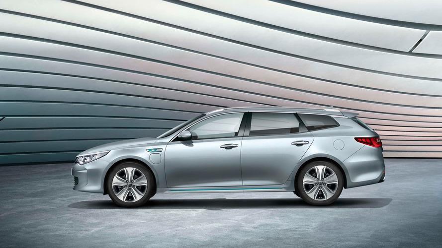 Kia unveils Niro, Optima Sportswagon Plug-in Hybrids in Geneva