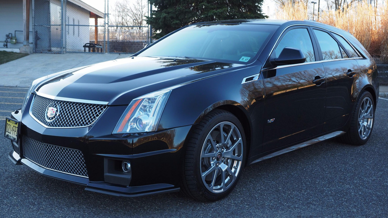 Cts-V Wagon For Sale >> Score This Rare 2012 Cadillac CTS-V Manual Wagon While It ...