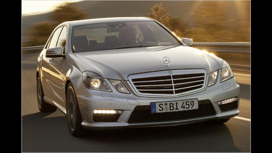 Mercedes E 63 AMG (2009): Sparsamer und schneller beim Schalten