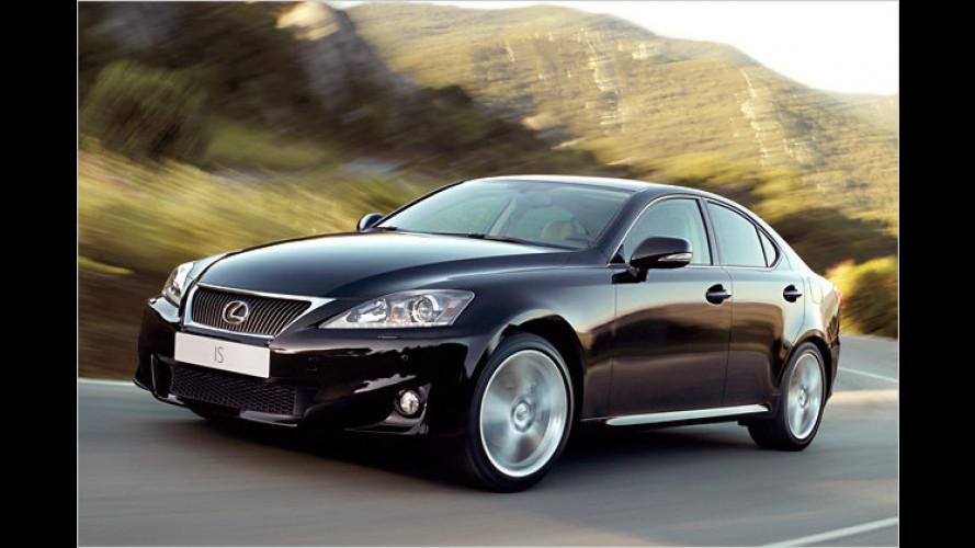Lexus IS: Dezent überarbeitet und zusätzliche Motorisierung