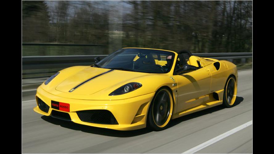 Verschärfte Version: Novitec tunt Ferrari Scuderia Spider 16M