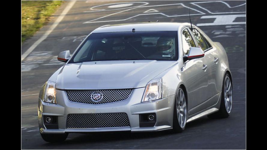 Cadillac CTS-V: Mit Vollgas durch die grüne Hölle