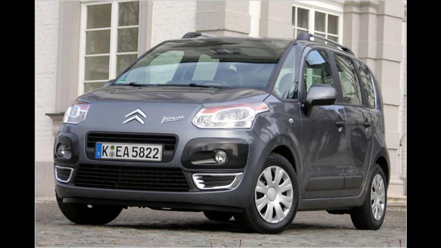Citroën C3 Picasso (2009) im Test: Kubistisches Transportkunstwerk