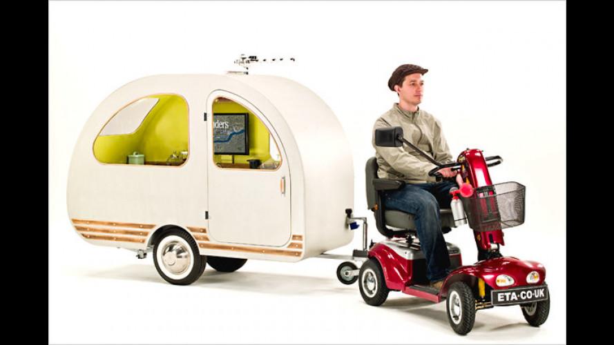 """Der """"QTvan"""" ist der kleinste Wohnwagen aller Zeiten"""
