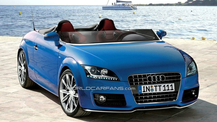 SPECULATION: Next Audi TT Gets Mid-Engine Layout