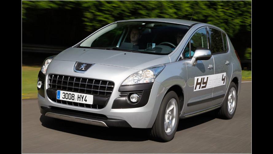 Peugeots Hybrid-3008: Endlich ein Hybrid, der Spaß macht