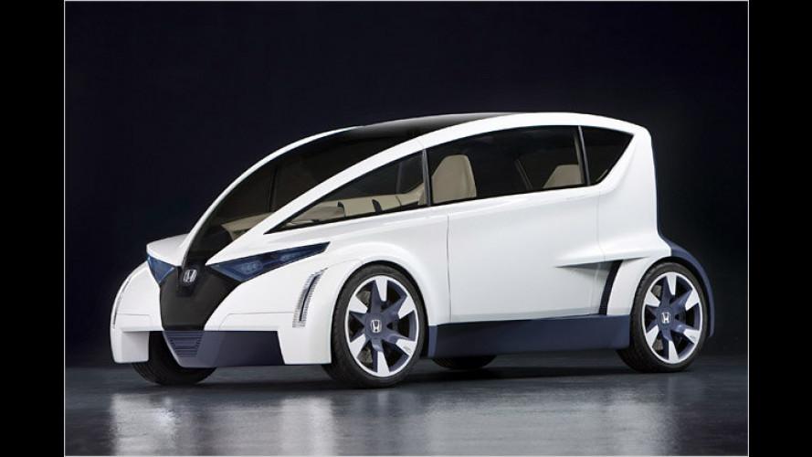Honda P-NUT: Stadt-Studie auf der L.A. Auto Show 2009