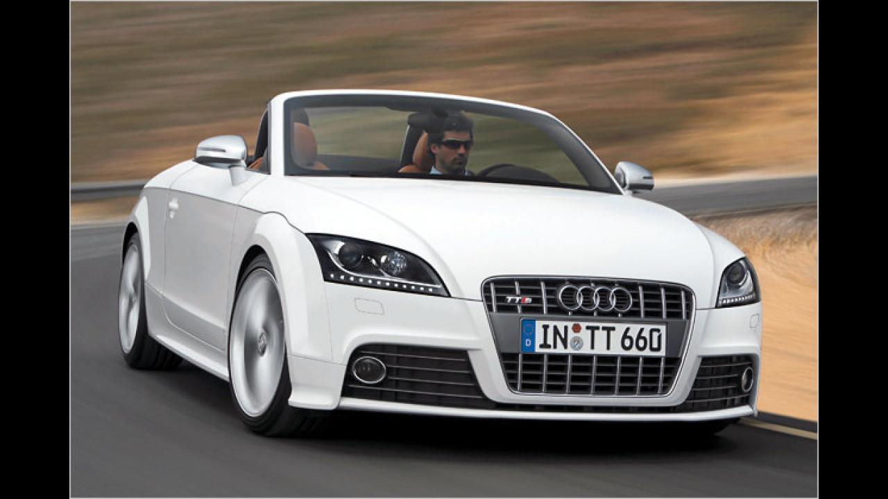 Audi TTS Roadster S tronic