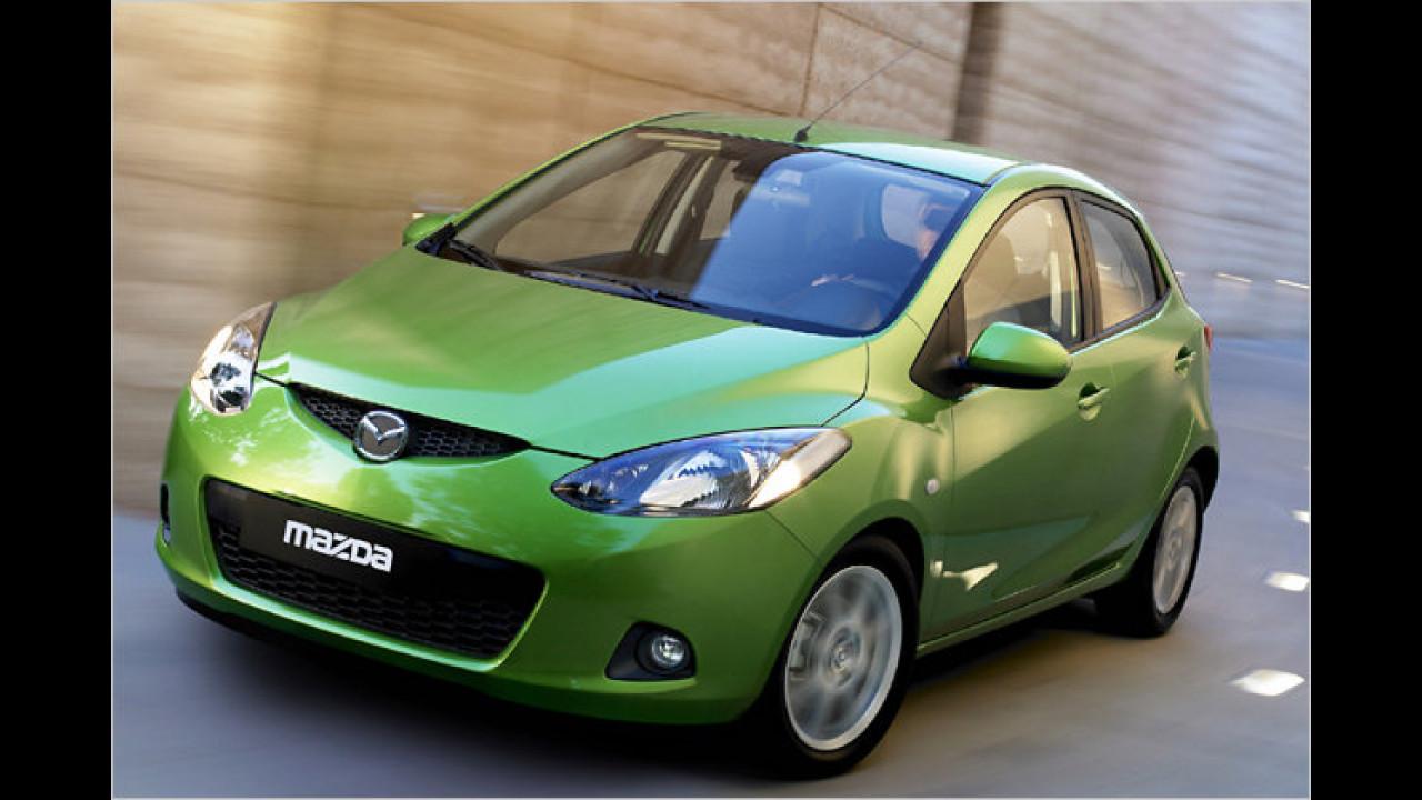 ... wurde der Mazda 2