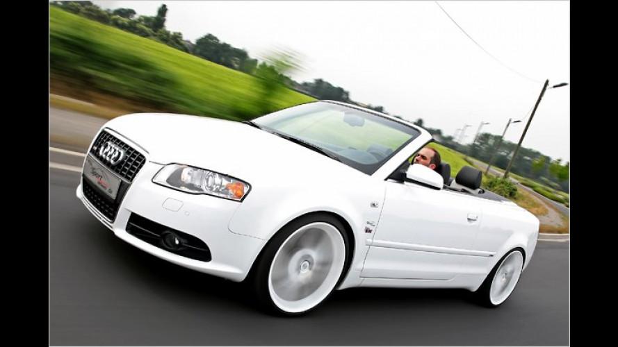 Tiefer, lauter, stärker: Audi A4 Cabrio von Sport-Wheels