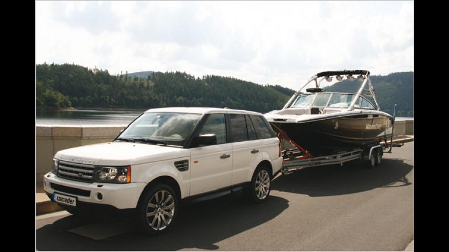 An den Haken: Boot gekauft? Gewicht überprüfen lassen!