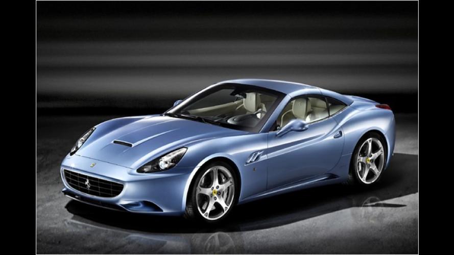 Klappe zu: Erste Bilder des geschlossenen Ferrari California