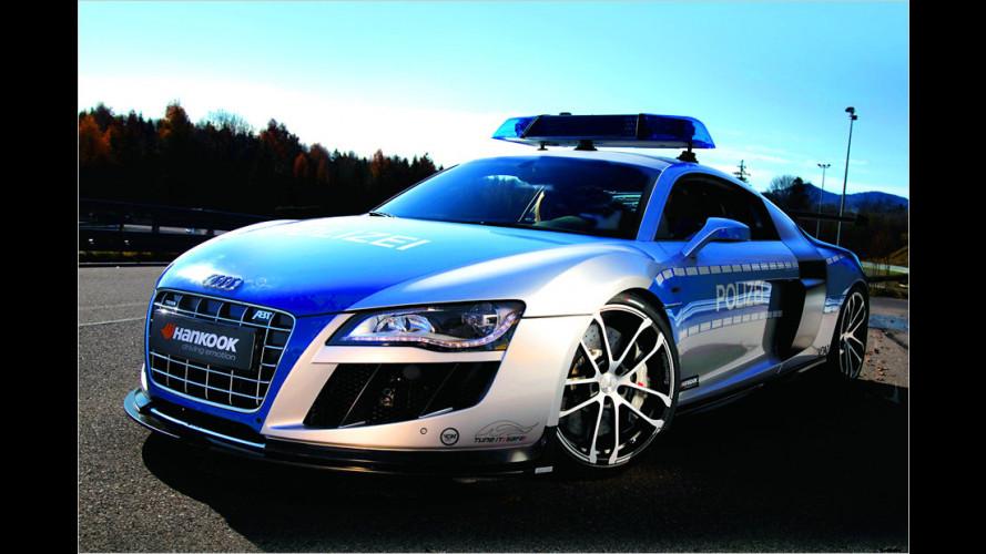 Abt R8 GTR: 620 PS im Polizei-Dress