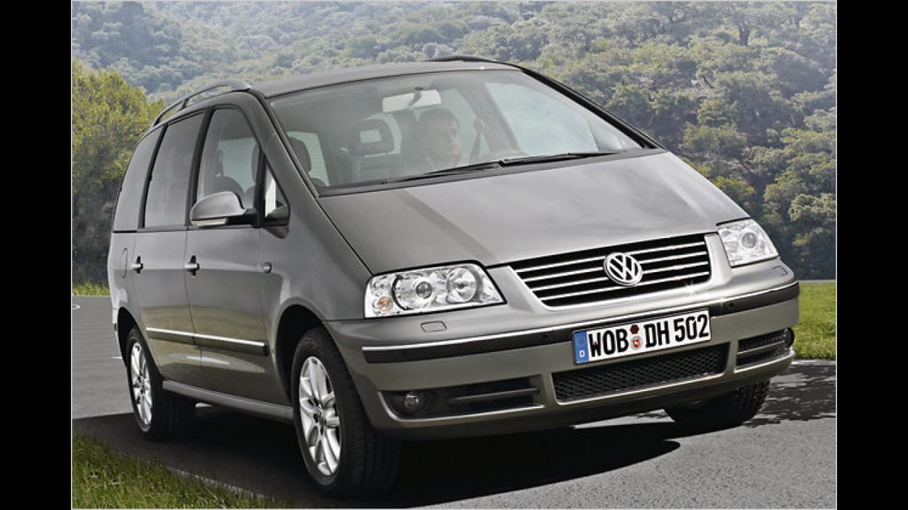 VW Sharan BlueMotion Trendline DPF