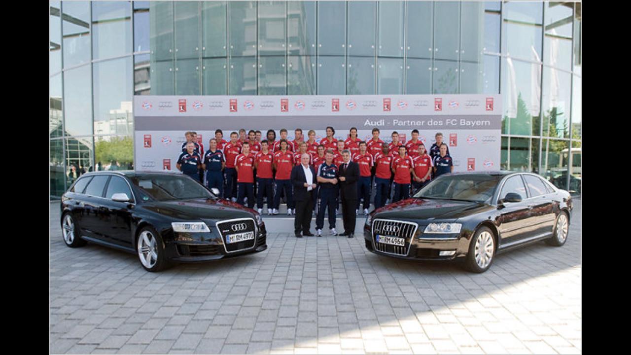 Neue Audis für FC Bayern