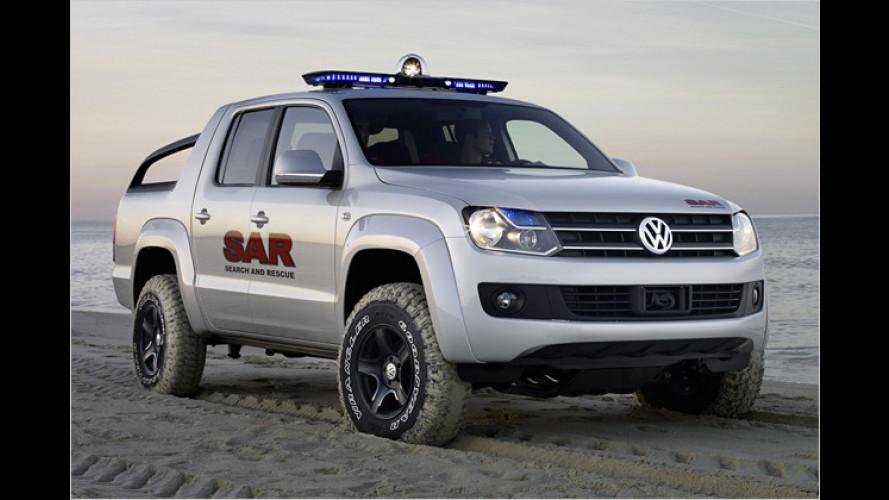 VW bringt Pick-up: Der König der Wildnis heißt Amarok