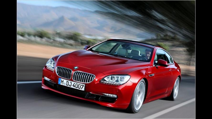 Jetzt auch mit Dach drauf: Der neue BMW 6er als Coupé