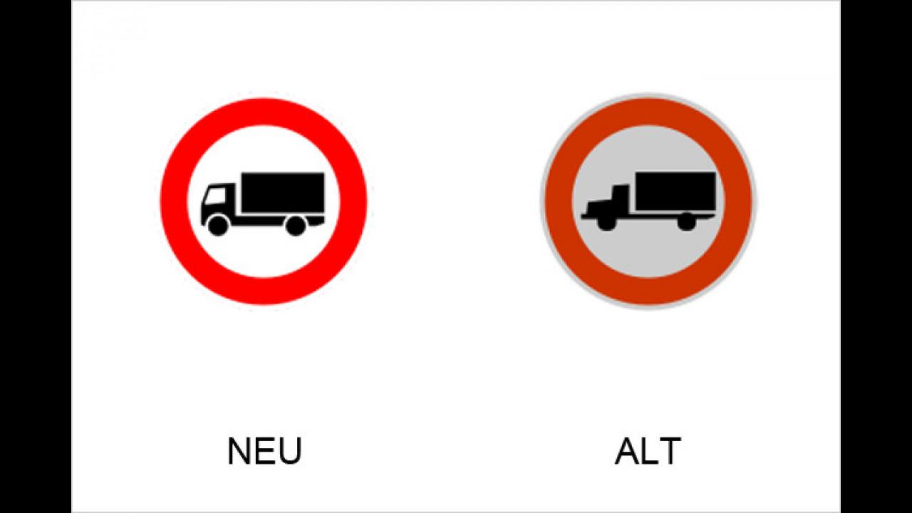 Verbot für LKW über 3,5 Tonnen