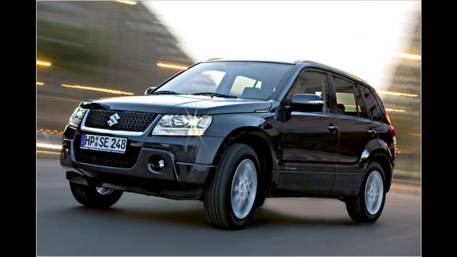"Suzuki legt Sondermodell Grand Vitara ,limited"" auf"