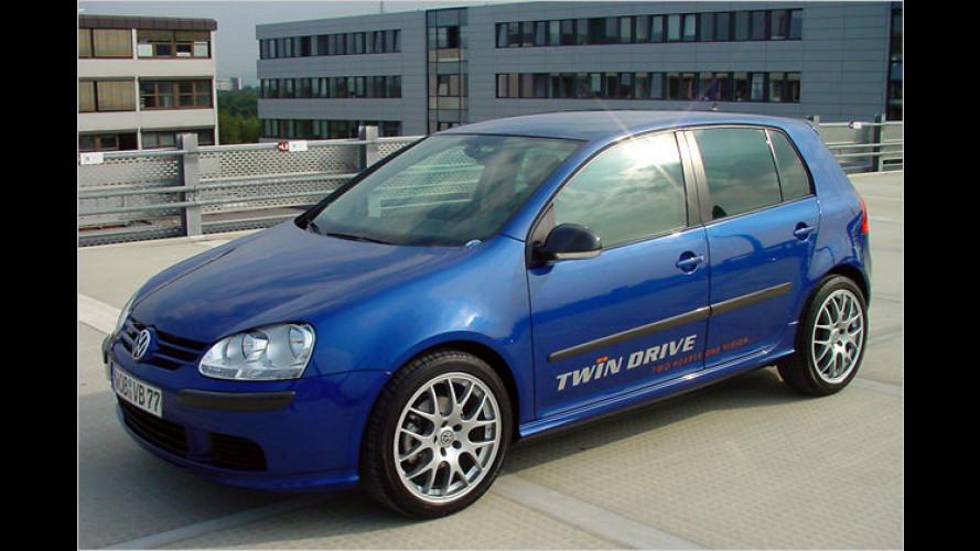 VW Golf TwinDrive: Das doppelte Flottchen im Test