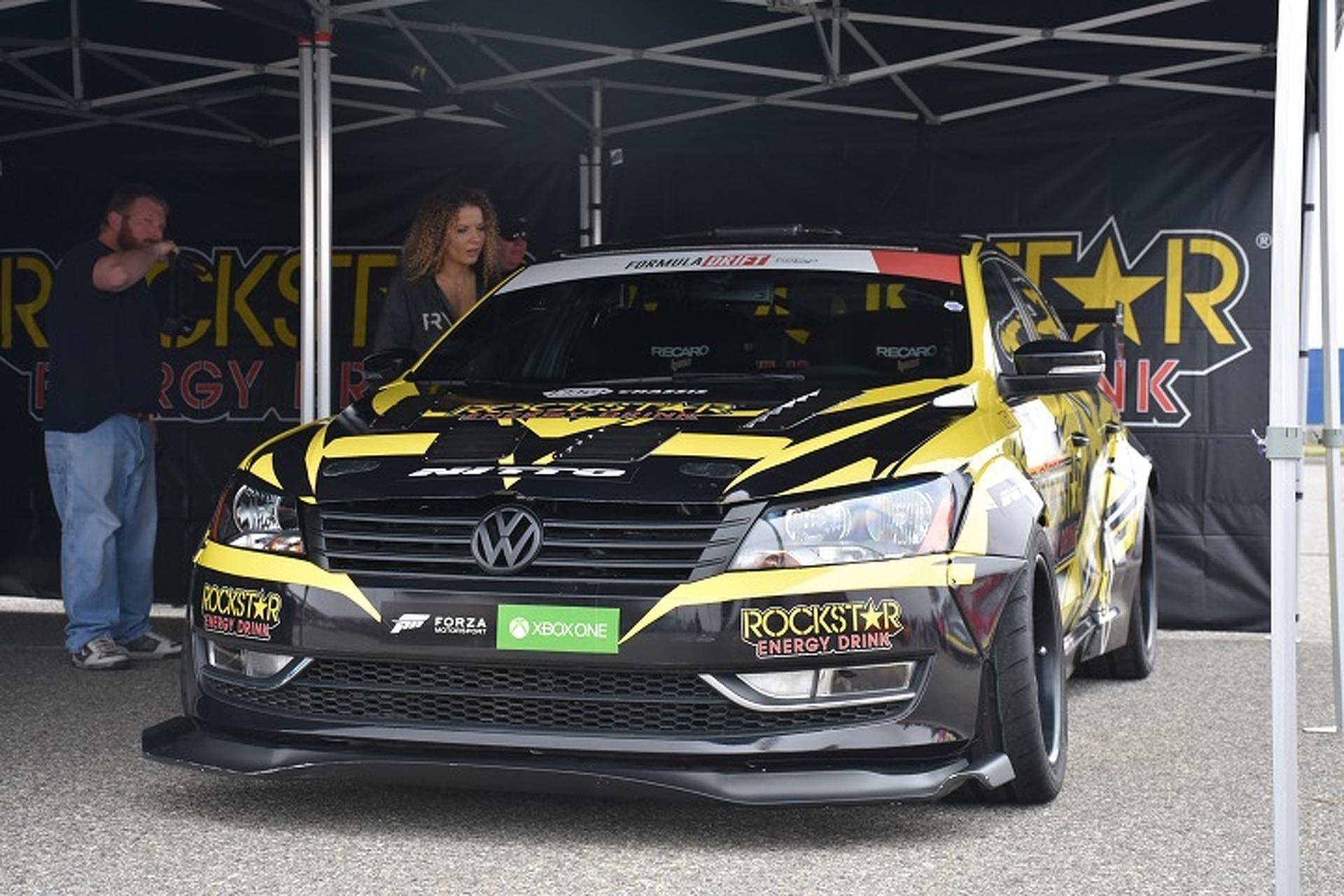 Tanner Foust'un 900 bg'lik Volkswagen Drift Passat'ı