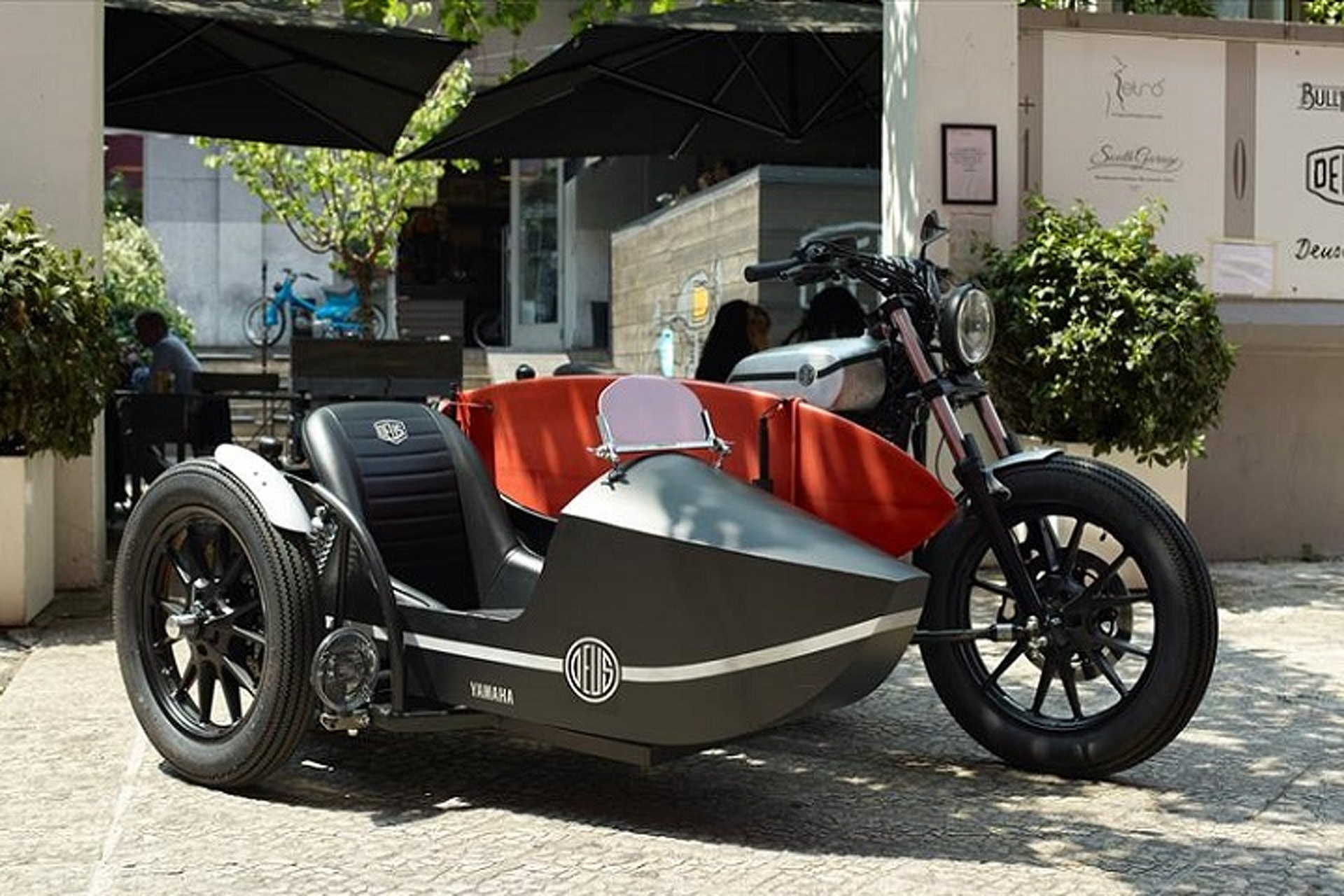 Deus Ex Machina Motorcycles Makes the Sidecar Sexy