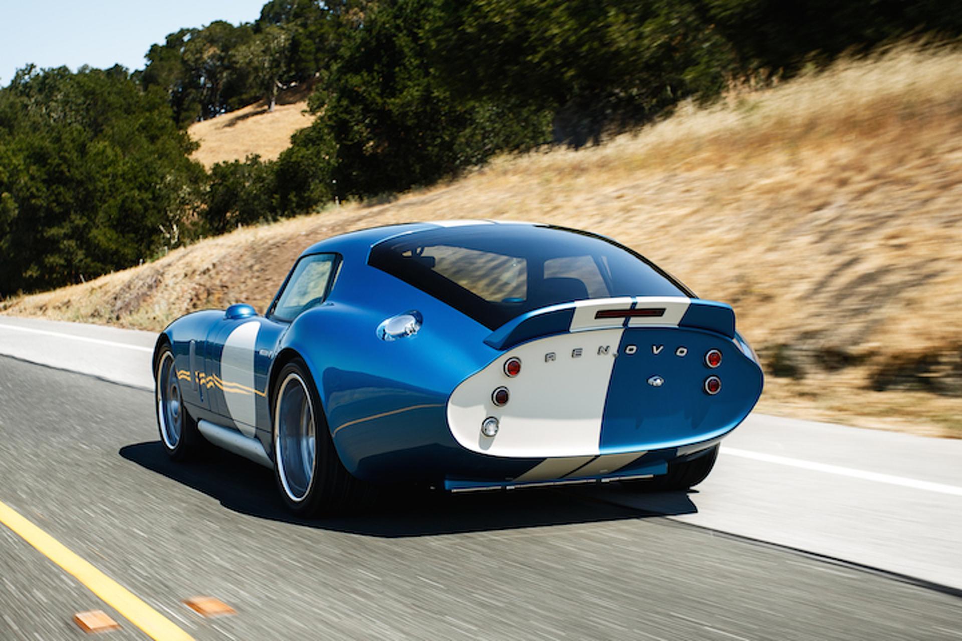 Renovo Coupe Blends EV Technology, Retro Looks: Pebble Beach
