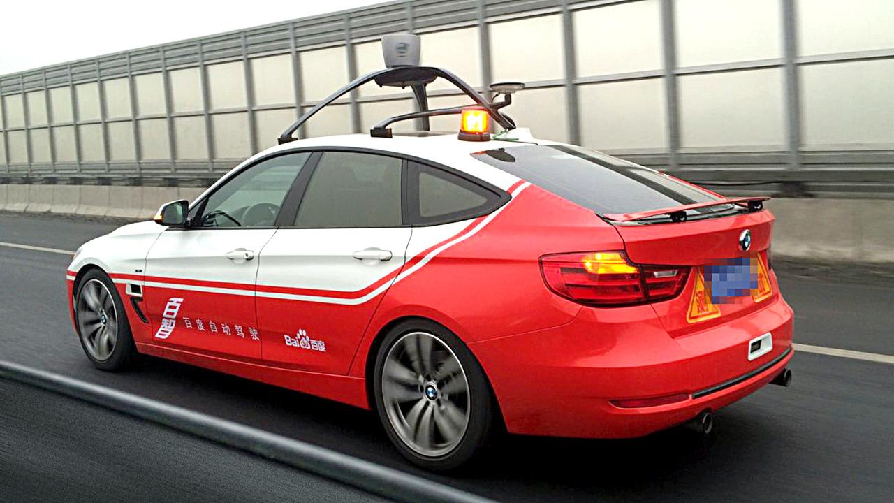 BMW voiture autonome en chine