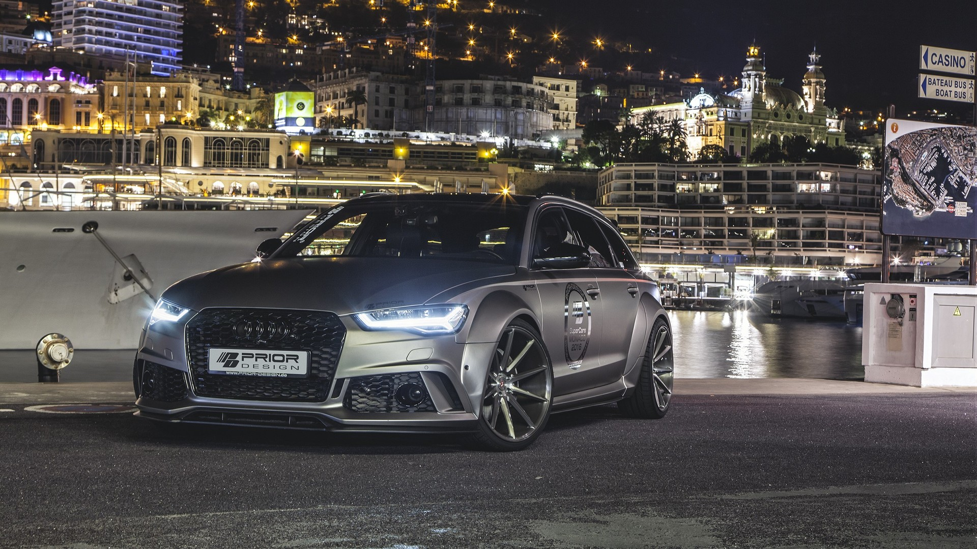 Audi A6 Rs6 Avant Gets Wide Body Kit And Engine Tuning