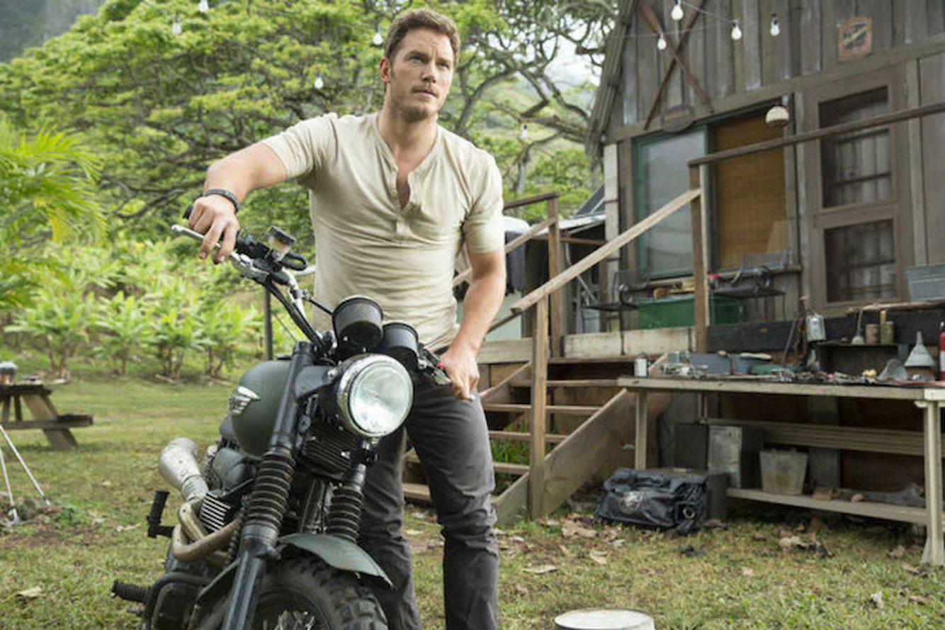 'Jurassic World' Trailer Features Chris Pratt on a Triumph Motorcycle