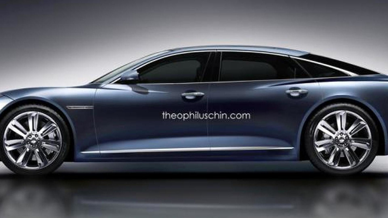Jaguar C-XJ render