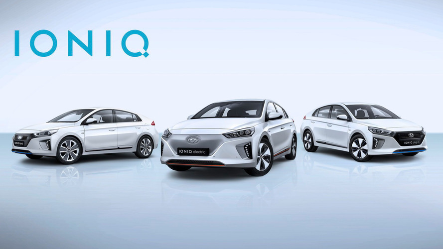 Hyundai IONIQ range heading to Geneva in Euro specification