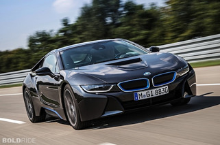 BMW i8 Electric Sportscar Makes World Debut [w/video]