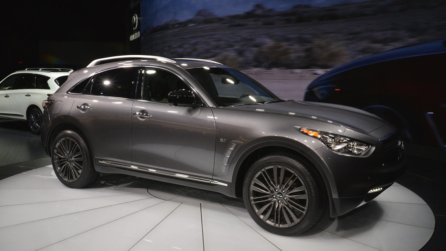 Infiniti QX70 Limited brings luxury tweaks to an aging model