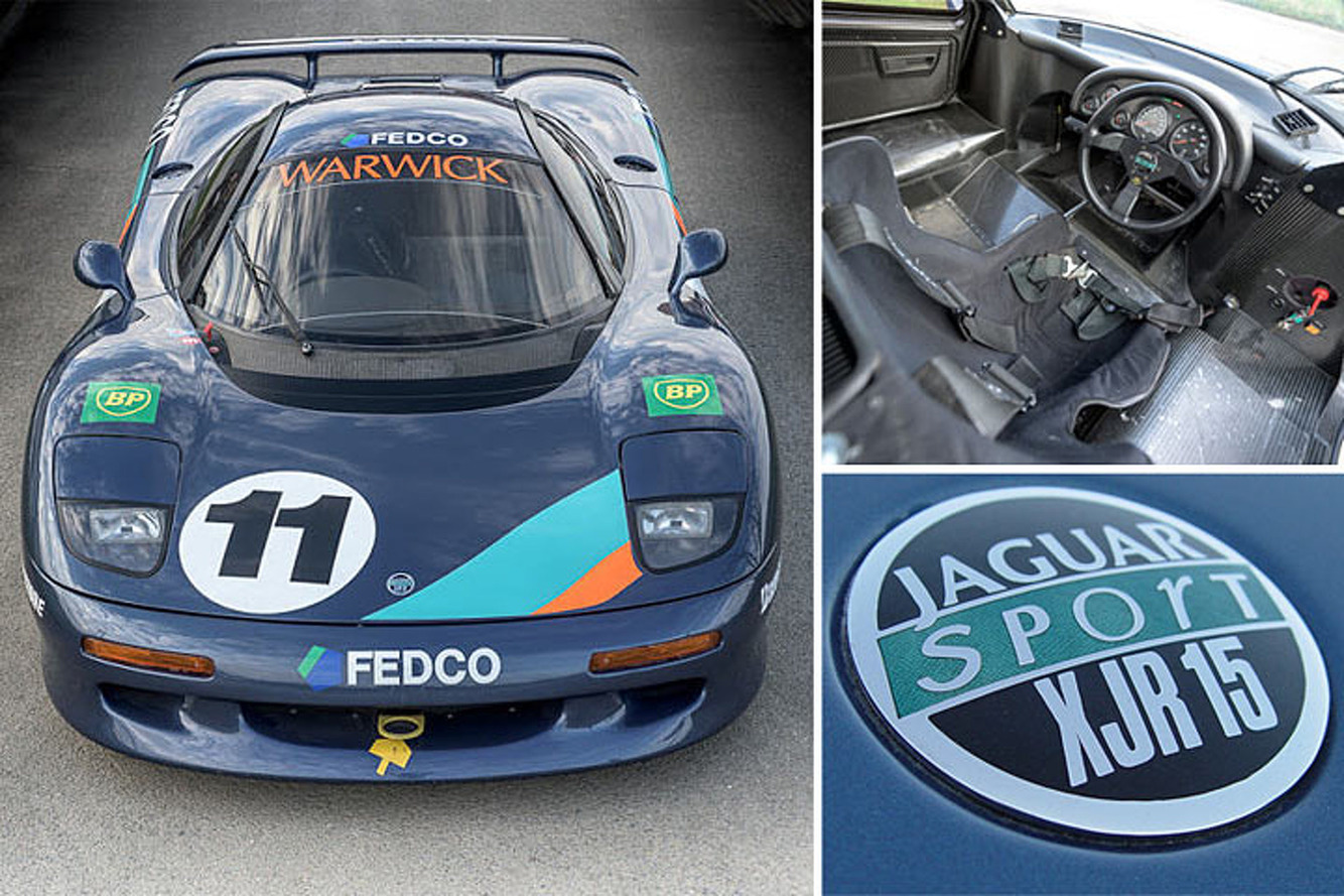 This Monaco-Winning Jaguar Supercar is a Rare eBay Find