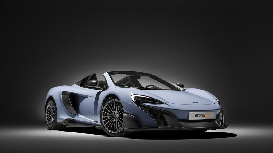 Une version musclée de la McLaren 675LT surprise en France ?