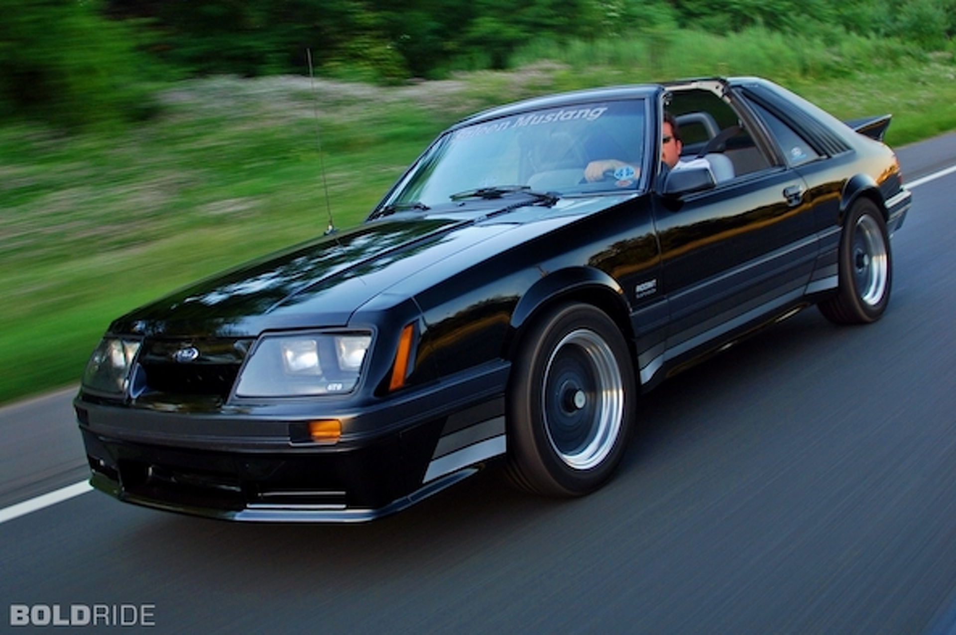 Your ride 1985 saleen ford mustang t top